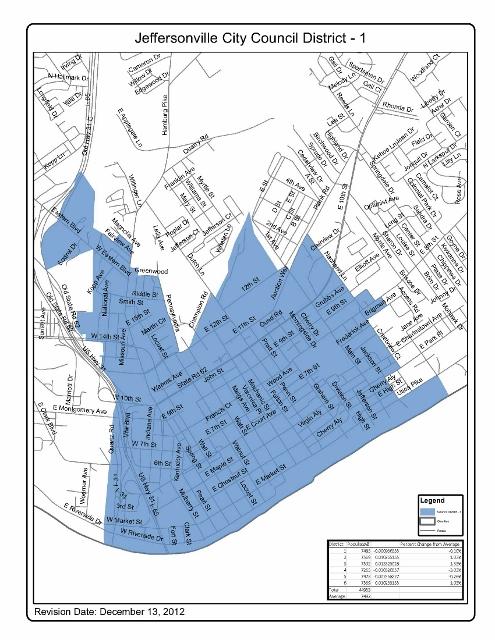 JEFFERSONVILLE CITY COUNCIL DISTRICT - 1 495x640